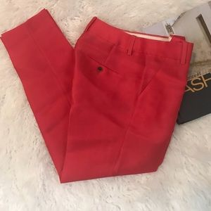 * J. CREW Collection Silk Wool Blend Orig Fit Pant